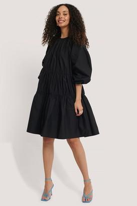NA-KD Oversized Cotton Short Dress