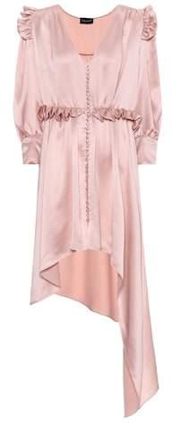 Magda Butrym Tarragona satin silk dress