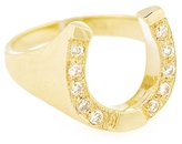 Campise Diamond Horse Shoe Ring