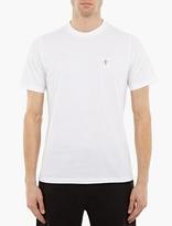 Oamc White Cotton Printed T-Shirt