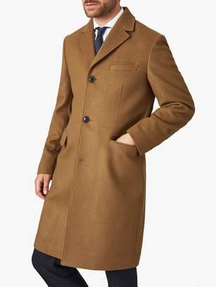 Jaeger Wool Cashmere Overcoat, Camel