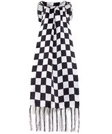 Tootal Silk Chequered Flag Scarf
