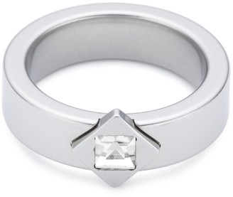 PURE Grey Unisex Ring Stainless Steel EU Size 56 mm No.12055