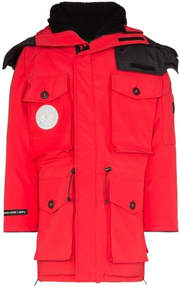 Canada Goose x juun.j Expedition hooded parka coat