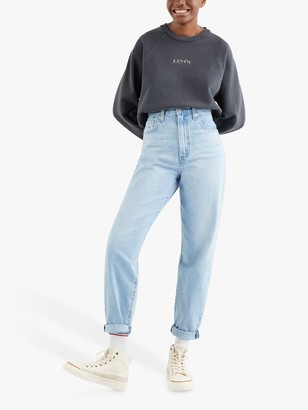 Levi's High Waisted Loose Taper Fit Jeans