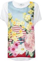 Blugirl floral top - women - Silk/Spandex/Elastane/Viscose - 42