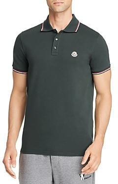 Moncler Maglia Basic Flag Regular Fit Polo Shirt