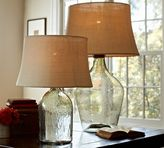 Pottery Barn Clift Glass Table Lamp Base - Clear