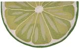 Liora Manné Frontporch Lime Slice Indoor/Outdoor Hand-Tufted Rug