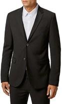 Topman Men's Ultra Skinny Black Suit Jacket