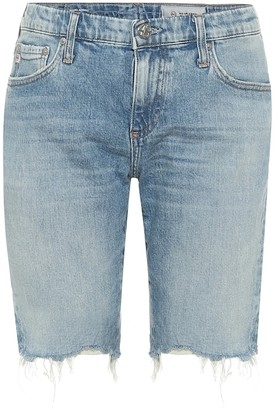AG Jeans Nikki mid-rise denim shorts