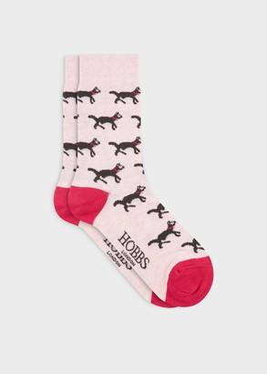 Hobbs Cat All Over Sock