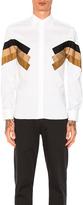 Neil Barrett Modernist Poplin Shirt
