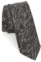 Lanvin Men's Jacquard Silk Skinny Tie