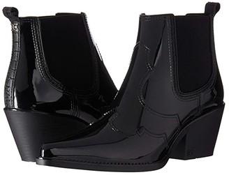 Sam Edelman Winona Rain (Black Shiny PVC) Women's Shoes
