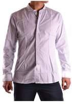 Daniele Alessandrini Men's Light Blue Cotton Shirt.