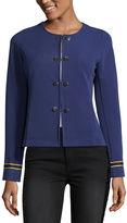 Libby Edelman Ottoman Military Jacket