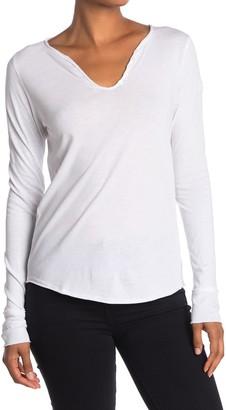 Zadig & Voltaire Tunisien Strass Skull Print Long Sleeve T-Shirt