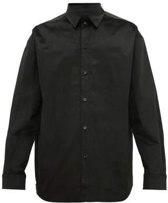 Y/Project Velvet Shirt - Mens - Black
