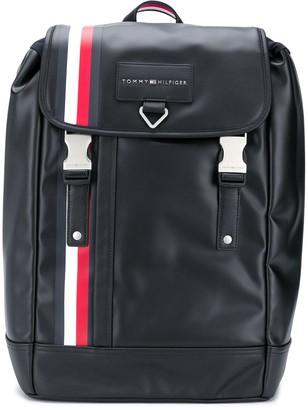 Tommy Hilfiger Logo Patch Drawstring Backpack