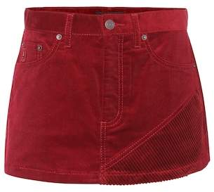 Marc Jacobs Corduroy mini skirt