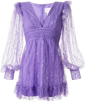 Alice McCall Floyd lace mini dress