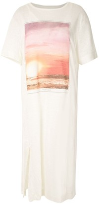 OSKLEN Sunrise midi T-shirt dress