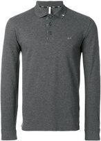 Sun 68 fitted polo sweatshirt