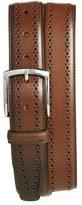 Allen Edmonds Men's 'Manistee' Brogue Leather Belt