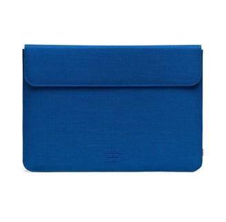 """Herschel Spokane 13"""" Macbook Sleeve Monaco Blue Crosshatch"""