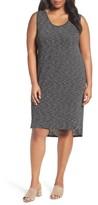 Plus Size Women's Caslon Shirttail Tank Dress