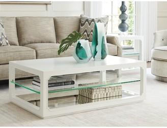 Lexington Avondale Floor Shelf Coffee Table with Storage