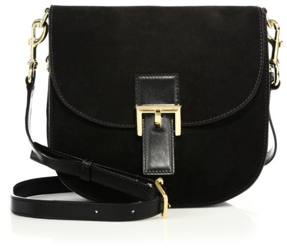 Marc Jacobs NS Decoy Suede Saddle Bag