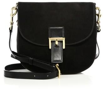 Marc Jacobs NS Decoy Suede Saddle Bag