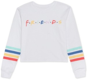 Warner Brothers Juniors' Friends Graphic Top