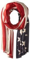 San Diego Hat Company BSS1701 Woven American Flag Print Scarf