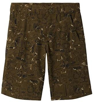 Columbia Kids Silver Ridgetm Novelty Shorts (Little Kids/Big Kids) (Cypress Traditional Camo) Boy's Shorts