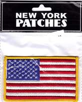 """US Flag Patch 3.5"""" x 2"""" In Retail Packaging"""