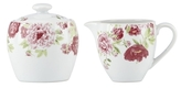 Gorham Ki Blossoming Rose Sugar Bowl & Creamer Set (2 PC)