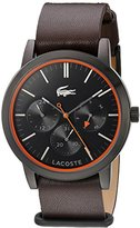 Lacoste Women's 'Ladies 12.12' Quartz Resin and Silicone Automatic Watch, Color:Black (Model: 2000956)