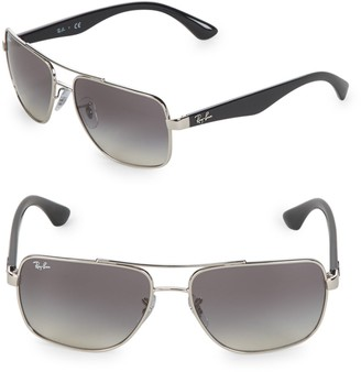 Ray-Ban 60MM Square Sunglasses