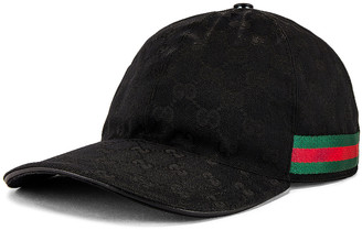 Gucci Cap in Black | FWRD