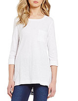 Westbound 3/4 Sleeve One-Pocket Tunic