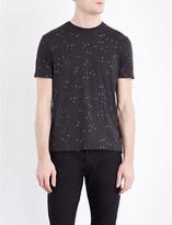 Armani Jeans Eagle-print cotton-jersey t-shirt