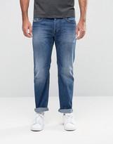 Diesel Waykee Straight Jeans 858K Mid Wash
