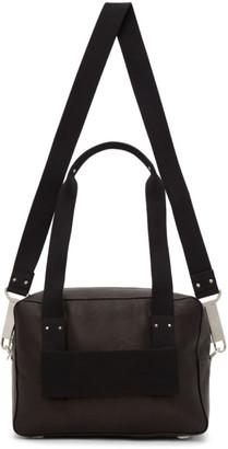 Rick Owens Black Trolley Duffle Bag