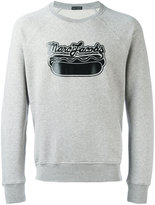 Marc Jacobs logo print sweatshirt - men - Cotton/Polyester - S