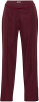 Cacharel Wool Cropped Trousers