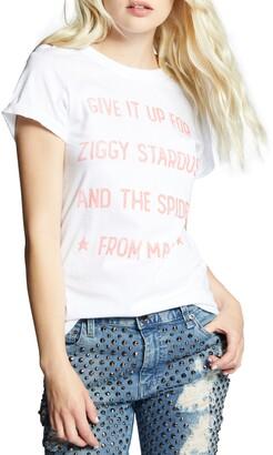 Recycled Karma David Bowie Ziggy Stardust Graphic Tee