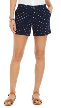 Style&Co. Style & Co Polka Dot Shorts, Created for Macy's